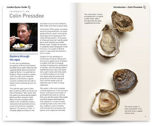 London Oyster Guide by Colin Pressdee, Shellfish Association of Great Britain, published by Graffeg