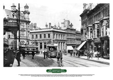 Load image into Gallery viewer, Lost Tramways of Wales Poster - Commercial Street, Newport