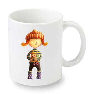 Molly and the Stormy Sea Mug