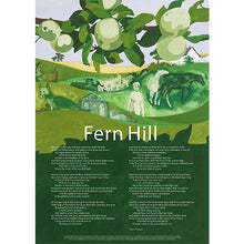 Load image into Gallery viewer, Fern Hill - Poster Poem