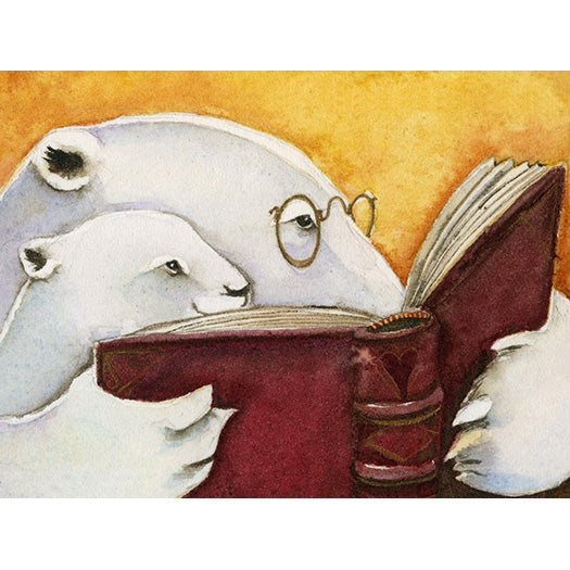 Jackie Morris Limited Edition Print: Shared Reading Time