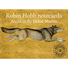 Load image into Gallery viewer, Robin Hobb: Animal Notecard Pack