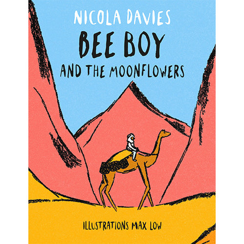 Bee Boy and the Moonflowers Nicola Davies Max Low published by Graffeg Shadows and Light Series