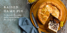 Load image into Gallery viewer, Flavours of England Pies and Pasties Gilli Davies Huw Jones published by Graffeg raised game pie