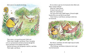 Happy Days for Mouse and Mole, by Joyce Dunbar and James Mayhew, published by Graffeg