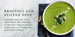 Flavours of England Cheese Gilli Davies Huw Jones published by Graffeg Broccoli and Stilton Soup