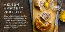 Load image into Gallery viewer, Flavours of England Pies and Pasties Gilli Davies Huw Jones published by Graffeg Melton Mowbray pork pie