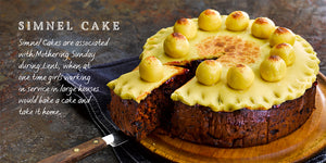 Flavours of England Festive Gilli Davies Huw Jones published by Graffeg Simnel Cake