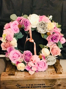 'Blush' Wreath