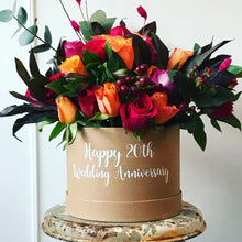 Load image into Gallery viewer, Anniversary Fresh Flower Box