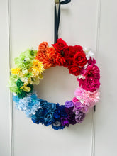 Load image into Gallery viewer, Over the rainbow wreath