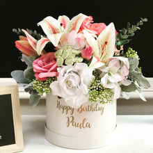 Load image into Gallery viewer, Personalised Faux Flower Box