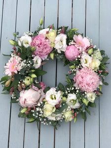 Pink Luxury Wreath