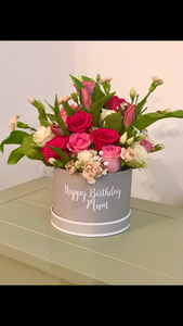 Personalised fresh flower - birthday box
