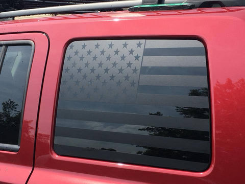JEEP PATRIOT FLAG DECAL