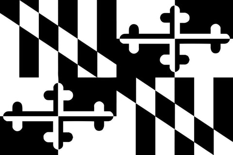 Maryland   flag decal / sticker / graphics - OGRAPHICS