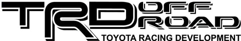 TRD DECALS SET OFF ROAD TOYOTA