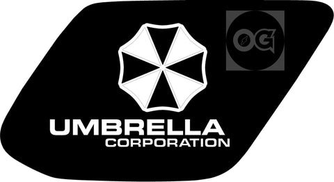 Umbrella Corporation 4runner 5th Gen   flag decal / sticker / graphics