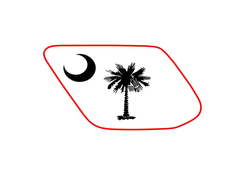 South Carolina toyota 4runner 5th 4TH gen 3rd Gen  ( precut ) - OGRAPHICS