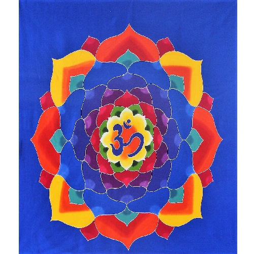 Om Flower Wall Hanging - Just-Oz