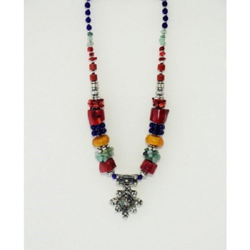 Moroccan Necklace Berber Tribal. - Just-Oz