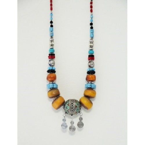 Moroccan Necklace Tribal. - Just-Oz