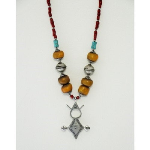 Moroccan Necklace Berber Tribal - Just-Oz