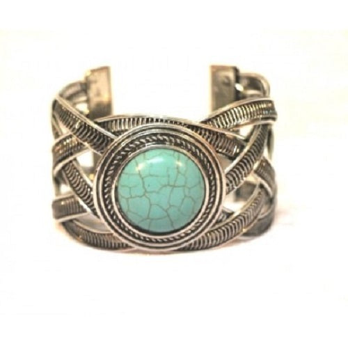 Moroccan Metal cuff. - Just-Oz