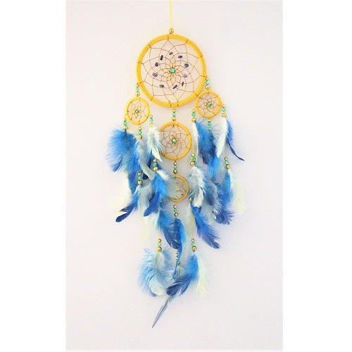 Gem Stone Zodiac Dream Catcher - Just-Oz