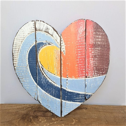 Heart Wall Plaque - Just-Oz