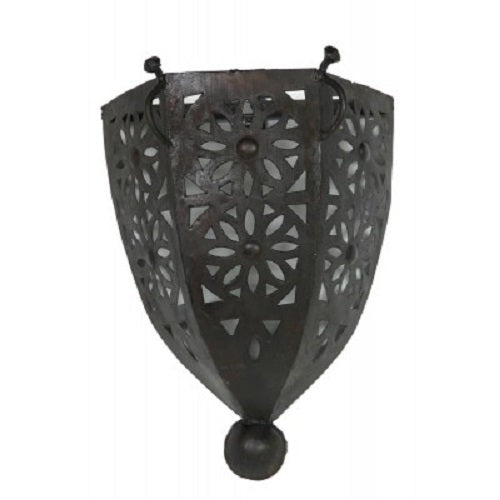 Iron cut out Sconce. - Just-Oz