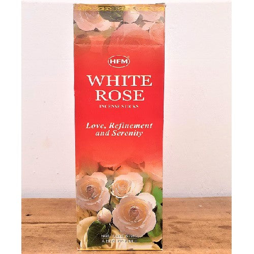 Hem Incense White Rose