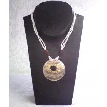 Necklace Shell Pendant - Just-Oz