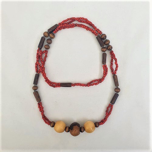 Necklace Long Beaded - Just-Oz
