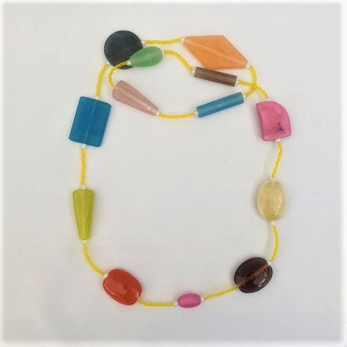 Necklace Glass Beads - Just-Oz
