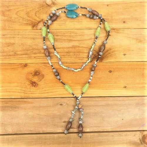 Necklace Mixed Beads - Just-Oz