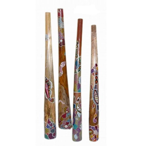 Didgeridoo Painted/Carved 1.5m - Just-Oz