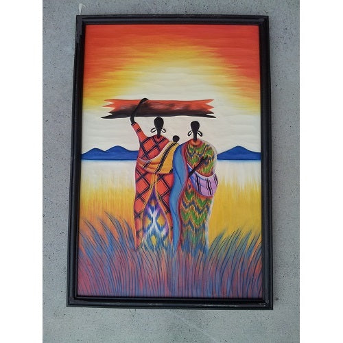 Africa Painting - Just-Oz