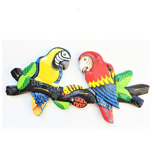 Macaw Hat Rack - Just-Oz