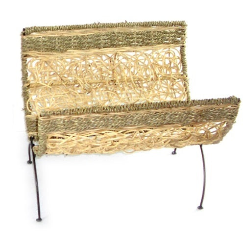 Rattan Magazine Rack - Just-Oz