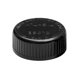 53mm Child Resistant Black Caps - 400 Qty.