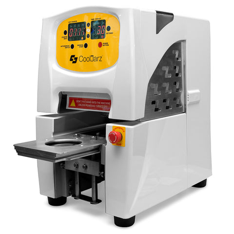 Semi-Automatic Hermetic Sealing Machine for Cooljarz Visibowlz™