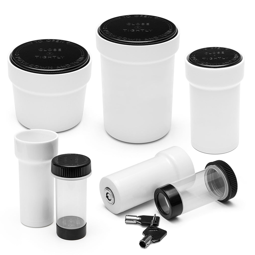 Child Proof Lockable Jars Sample Pack