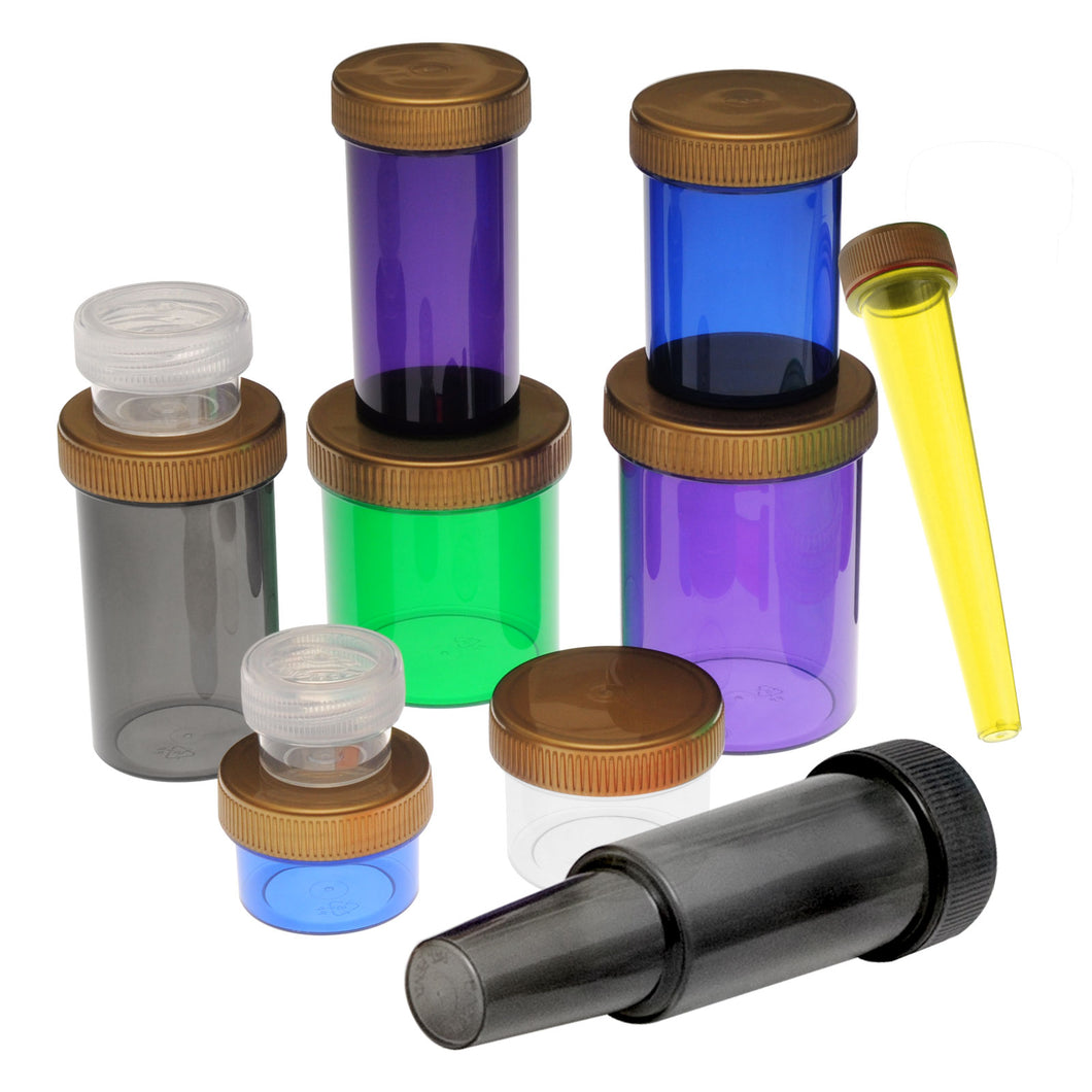 Sample Pack - Screw Top Vials & Concentrate Containers