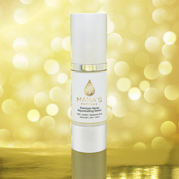 Premium Hemp Rejuvenating Serum (CBD + CoQ10 + Hyaluronic Acid)