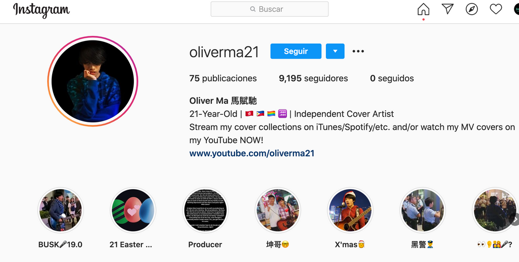 Interview with the Instagram Star Oliver Ma