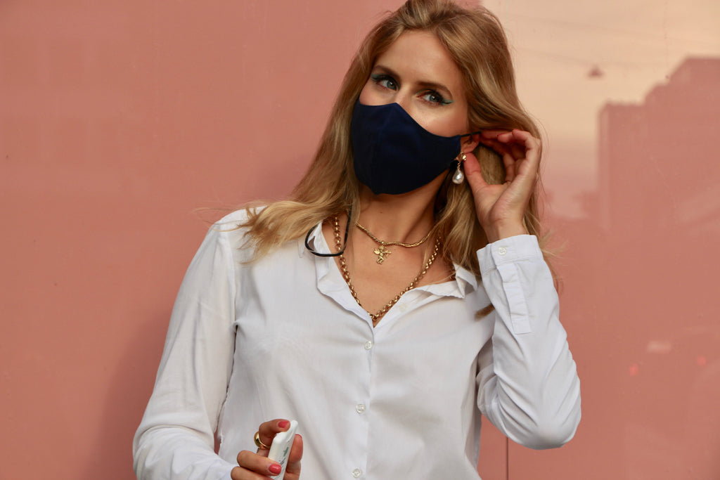 Anti-Viral & Washable Face Cover by MaskZ (Navy Blue) - MaskZ of Sweden