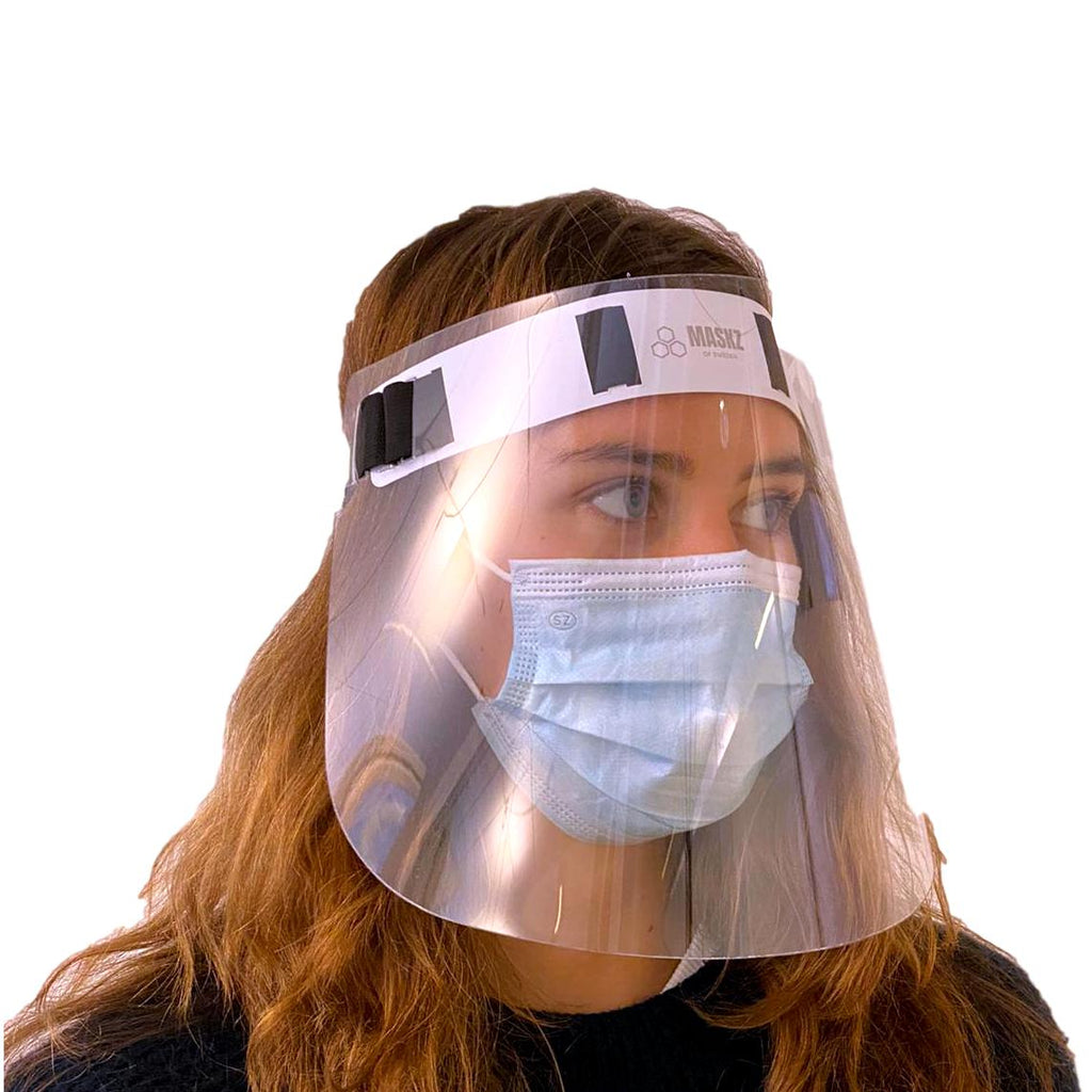 Reusable Face Shield (Anti-virus, Anti-fog, 1 pc)- MaskZ - MaskZ of Sweden