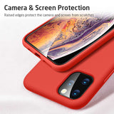 Yippee Color Case (Rood) - Apple iPhone 11 Pro Max