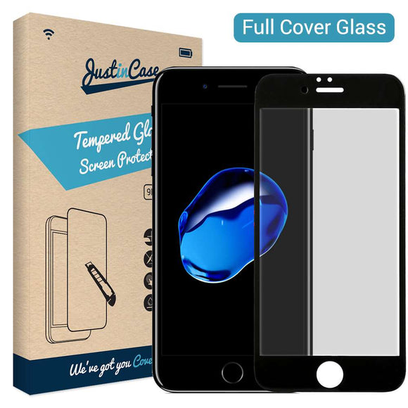 Just in Case Tempered Glass - Apple iPhone 7/8 Plus (Full Cover)